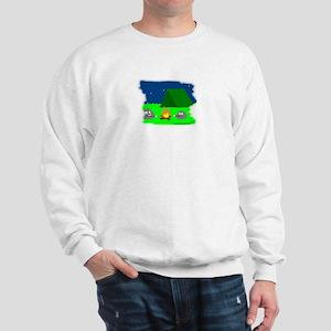 CAMPING ROCKS (CARTOON LOOK) Sweatshirt