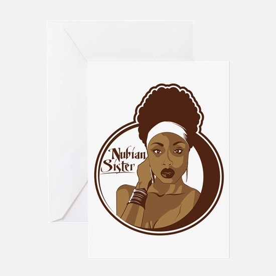 Nubian Sister Greeting Card