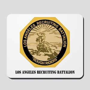 DUI - Los Angeles Recruiting Bn with Text Mousepad