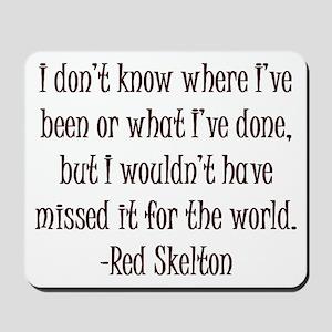 R. Skelton Quote Mousepad