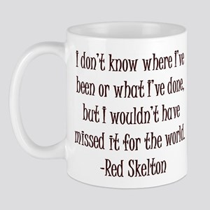 R. Skelton Quote Mug