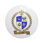 CHASSE Family Crest Ornament (Round)