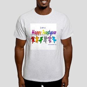 I am a Happy Feastgoer Ash Grey T-Shirt