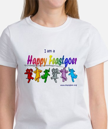 I am a Happy Feastgoer Women's T-Shirt