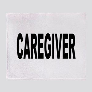 Caregiver Throw Blanket