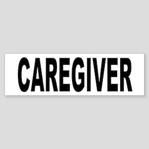 Caregiver Sticker (Bumper)
