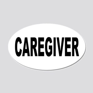 Caregiver 22x14 Oval Wall Peel