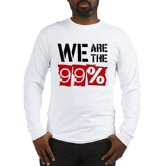 We Are The 99% Long Sleeve T-Shirt