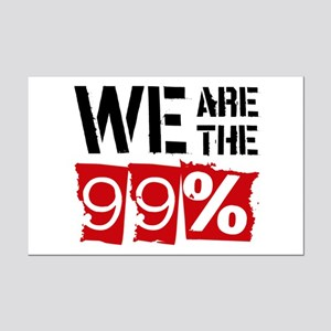 We Are The 99% Mini Poster Print