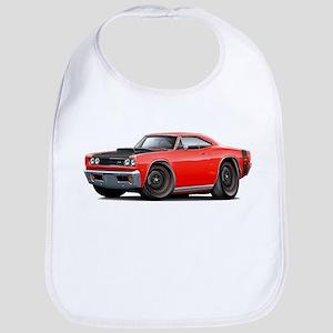 1969 Super Bee A12 Red Bib