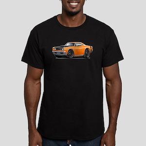 1969 Super Bee A12 Orange Men's Fitted T-Shirt (da