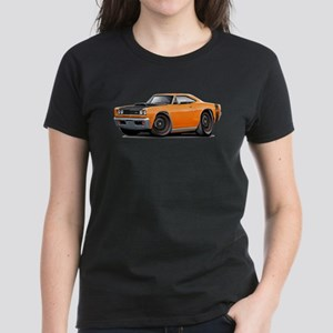 1969 Super Bee A12 Orange Women's Dark T-Shirt