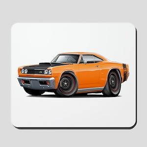 1969 Super Bee A12 Orange Mousepad