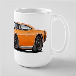 1969 Super Bee A12 Orange Large Mug