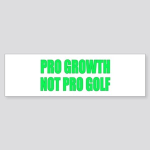 Pro Growth Anti-Obama Golfing Sticker (Bumper)