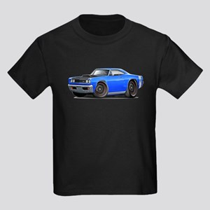 1969 Super Bee A12 Blue Kids Dark T-Shirt
