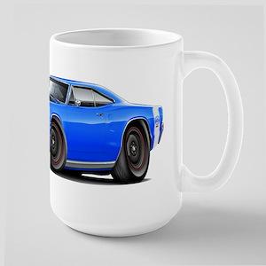 1969 Super Bee A12 Blue Large Mug