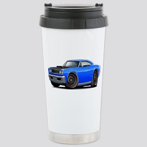 1969 Super Bee A12 Blue Stainless Steel Travel Mug