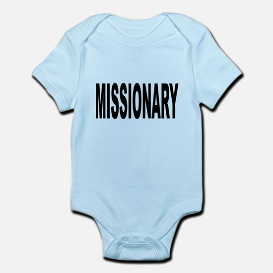 Missionary Infant Bodysuit