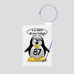 I is NOT a cry baby Aluminum Photo Keychain