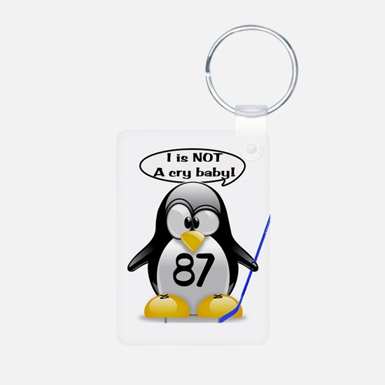 I is NOT a cry baby Keychains