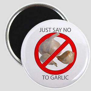Just Say No to Garlic Magnet