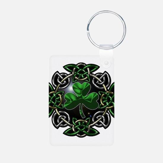 St. Patrick's Day Celtic Knot Keychains