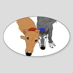 Drawn Together Sticker (Oval)