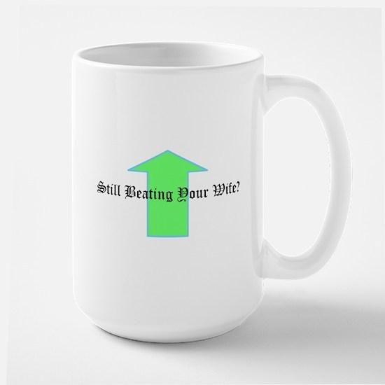 design_beating wife Mugs