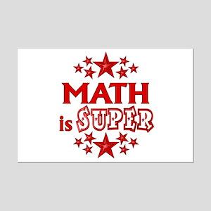 Math is Super Mini Poster Print