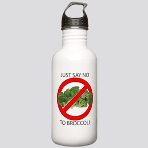 Just Say No to Broccoli Stainless Water Bottle 1.0