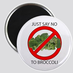 Just Say No to Broccoli Magnet