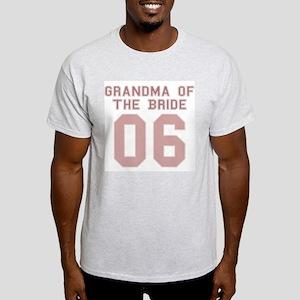 Grandma of the Bride 06 Ash Grey T-Shirt