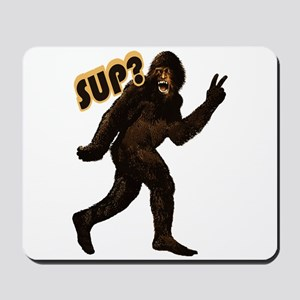 Bigfoot Sasquatch Yetti sup Mousepad