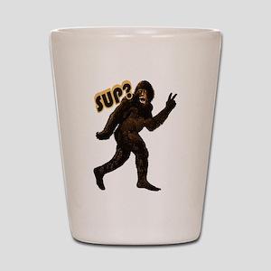 Bigfoot Sasquatch Yetti sup Shot Glass