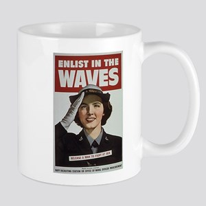 Enlist in the Waves Mug