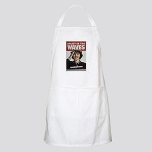 Enlist in the Waves BBQ Apron