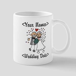 Just Married (Add Names & Wedding Date) Mug