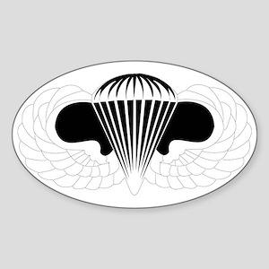 DUI - Airborne School Sticker (Oval)