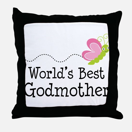 Cute Godmother Gift Throw Pillow