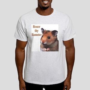 """Hamster"" Ash Grey T-Shirt"