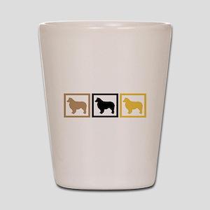Australian Shepherd Dog Shot Glass