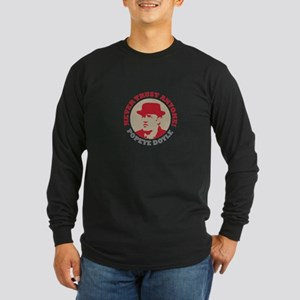 NEVER TRUST ANYONE Long Sleeve Dark T-Shirt
