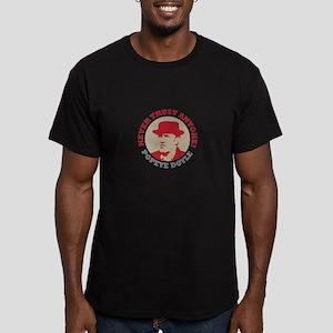 NEVER TRUST ANYONE Men's Fitted T-Shirt (dark)