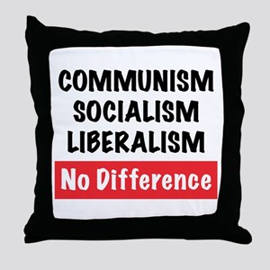 No Difference Throw Pillow