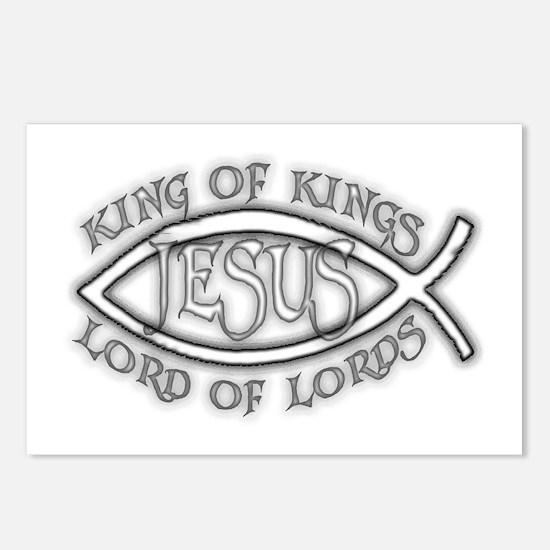 King of Kings Ichthus Postcards (Package of 8)