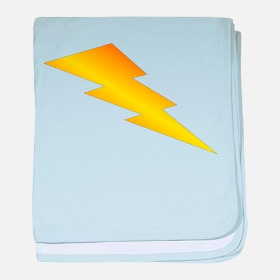 Lightning Bolt Gear baby blanket