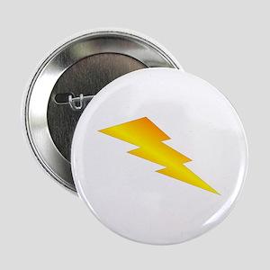 """Lightning Bolt Gear 2.25"""" Button"""