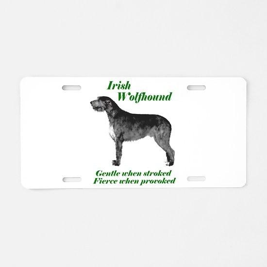 Gentle IRW Aluminum License Plate