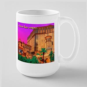 NEON Las Vegas Aladdin Large Mug